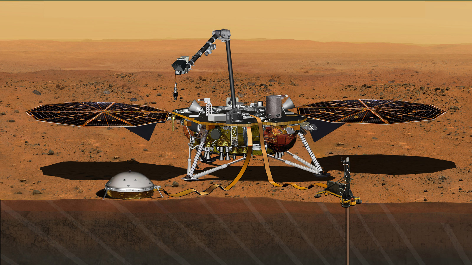 Nasa to send 1st mission to study 'heart' of Mars in May