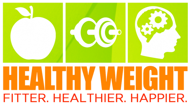 Healthy weight, MI, less heart diseases