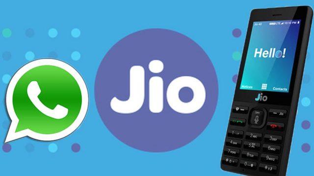 Whatsapp, jiophone, technology