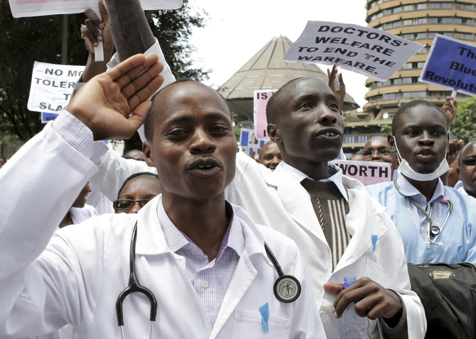 kenya doctors on strike