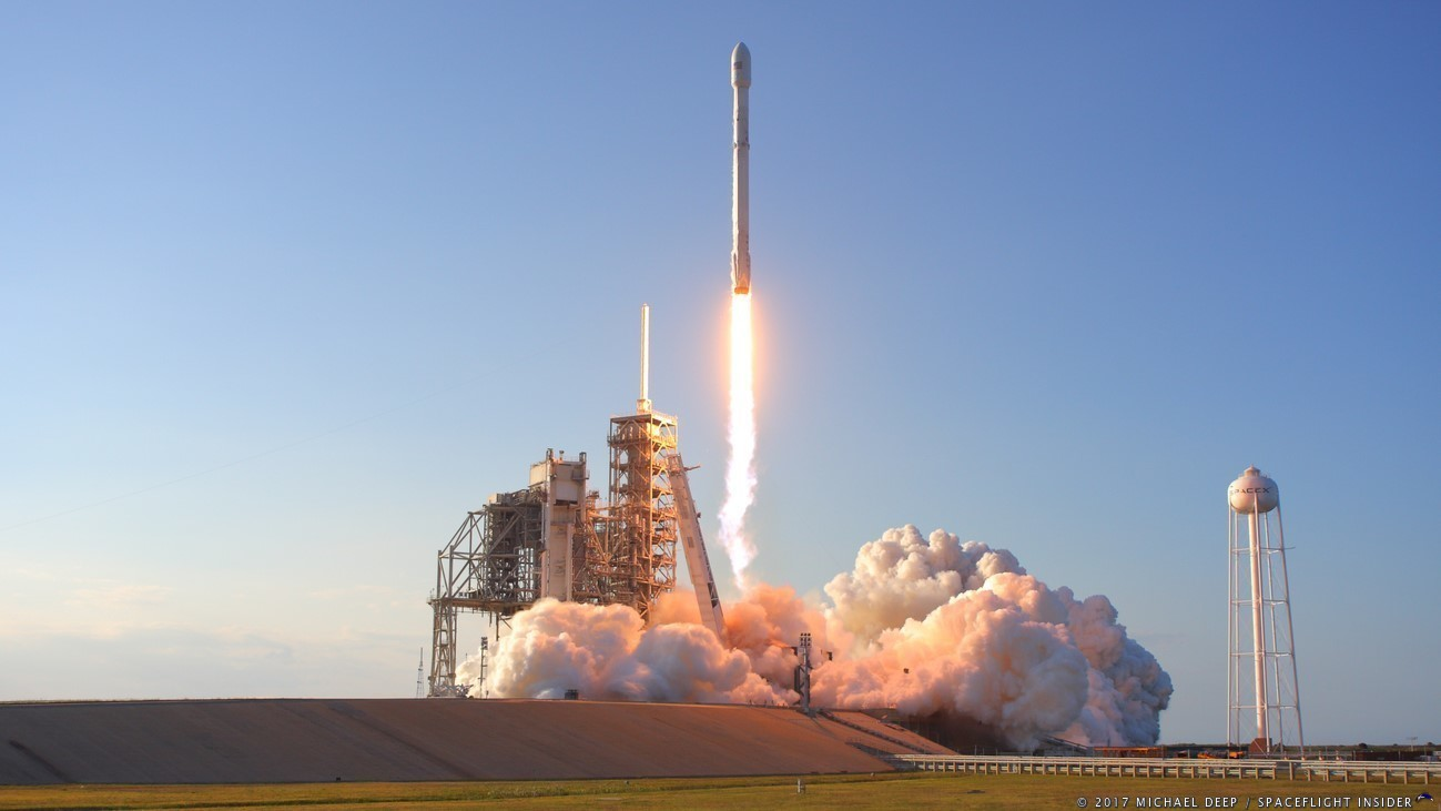 falcon 9 launched