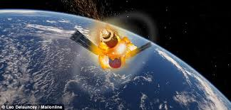 chinese space shutter coming towards earth