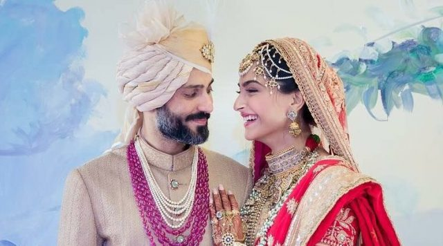 Sonam Kapoor and Anand Ahuja happily ties knot of wedding: Get news and photographs, sonam wedding