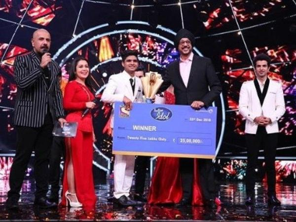 winner of the show INDIAN IDOL 10