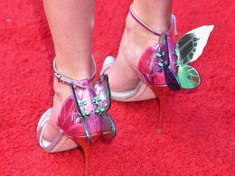 Taylor Swift Butterfly Shoes, Taylor Swift, Kim Kardashian, Sophia Webster Butterfly Heels