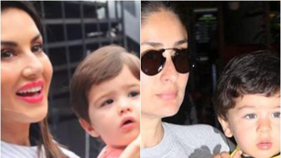Taimur Ali Khan and Asher Singh Weber