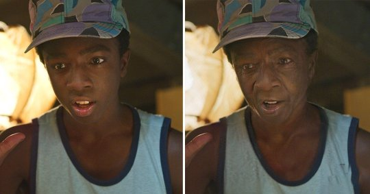 Caleb McLaughlin, FaceApp
