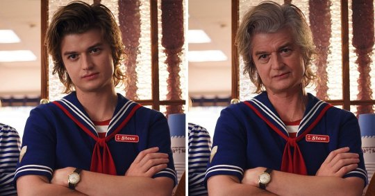 Joe Keery, FaceApp