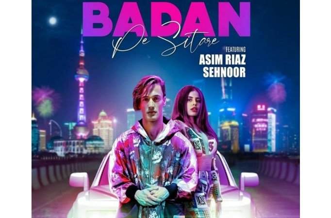 Asim Riaz New Song Badan Pe SitareFeat. Sehnoor Release On 25th September 2020 Teaser