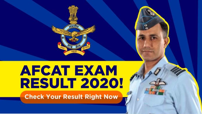 Indian Air Force (IAF), on 20 October, has announced the result of the online exam dates for Air Force Common Admission Test (AFCAT
