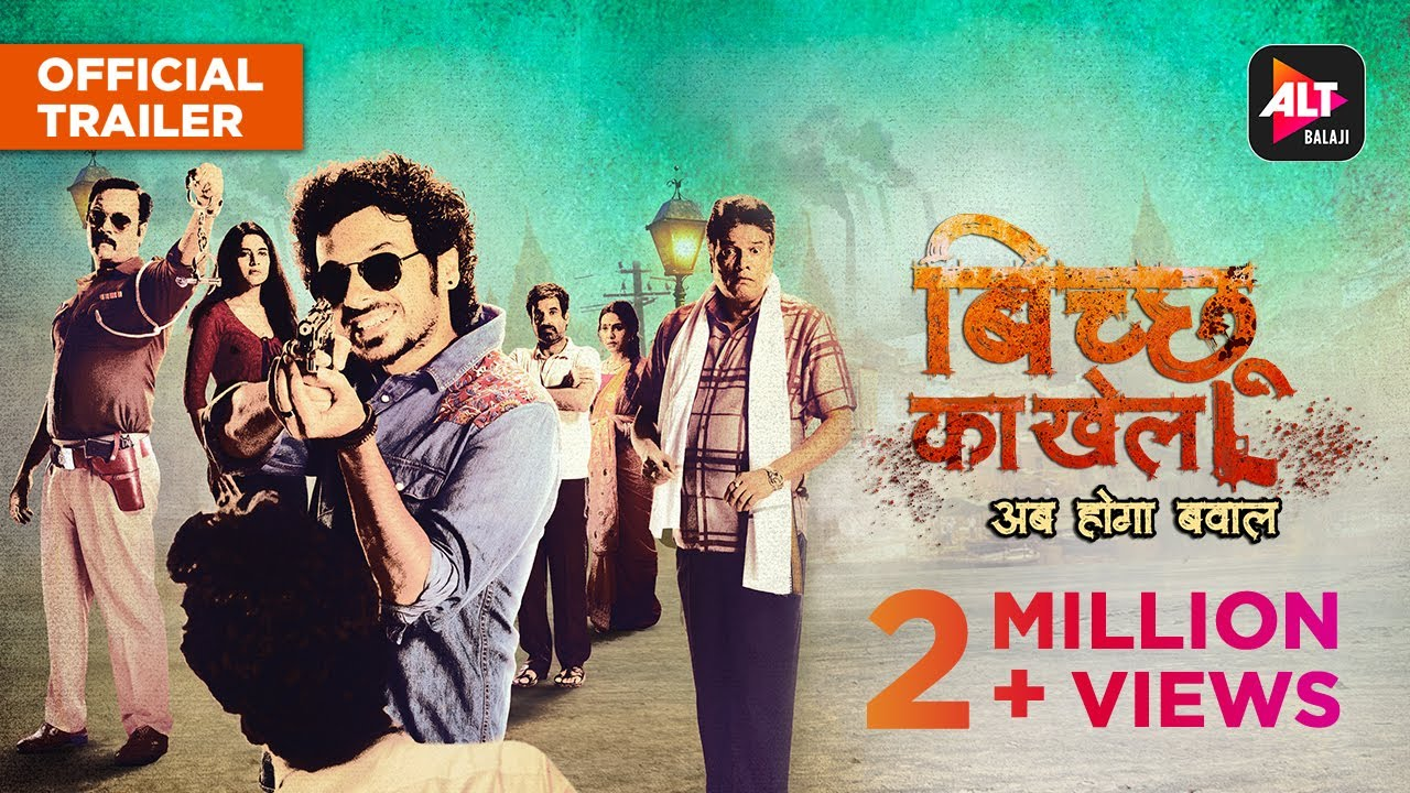 Bichu Ka Khel Web Series Ft. Divyendu All Episode Streaming On Alt Balaji Release Date Trailer Out