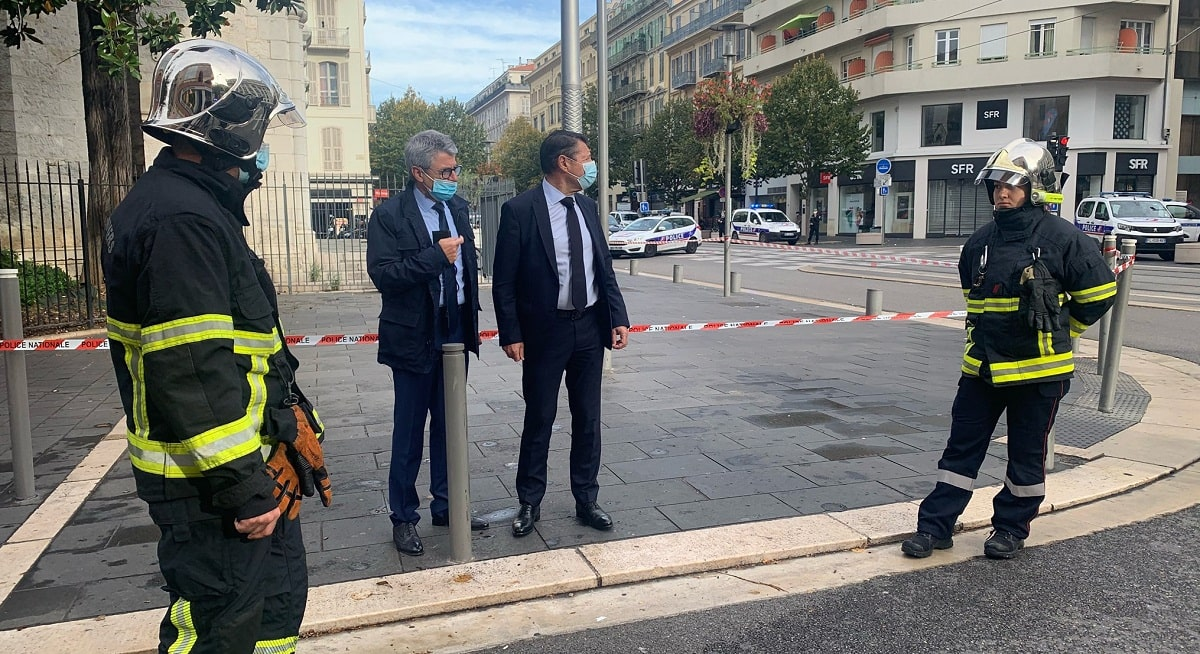 In French Church Three People Died In Terrorist Attack Mayor Statement