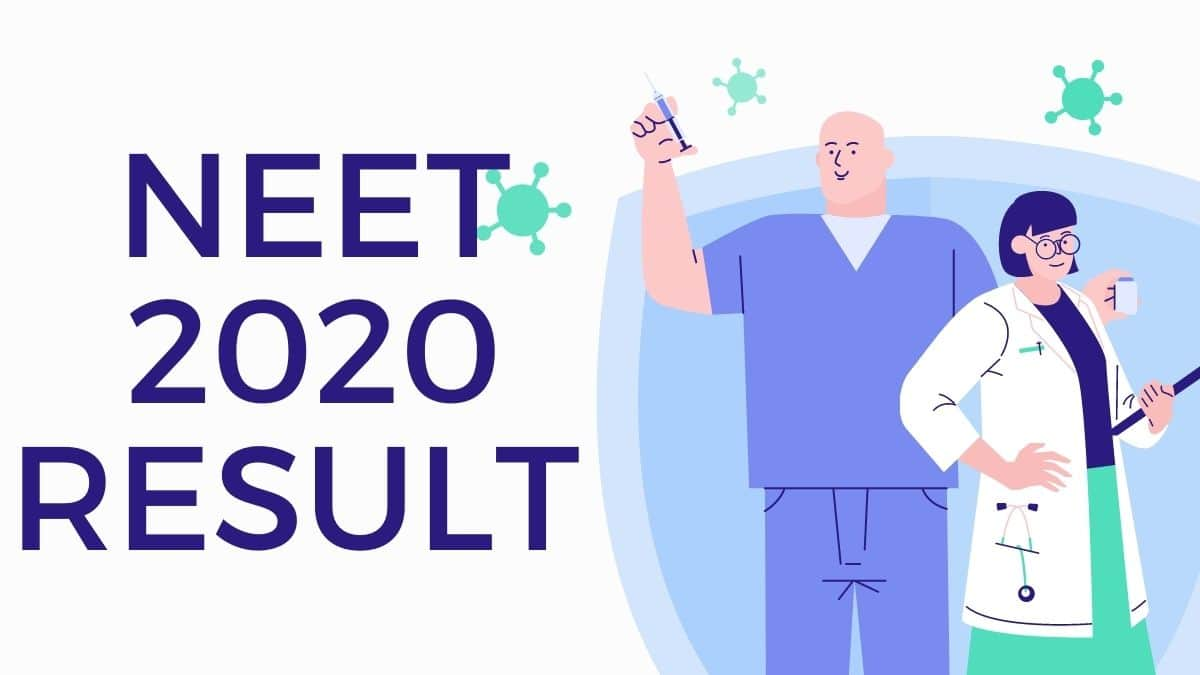 Neet Result 2020 Release Date Counselling Cutt Off List Merit Answer Key
