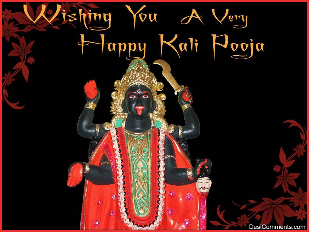 Kali Maa Diwali Puja Wishes Quotes Images Sayings Messages & Whatsapp Status