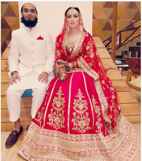 Sana Khan Marriage Anas Khan