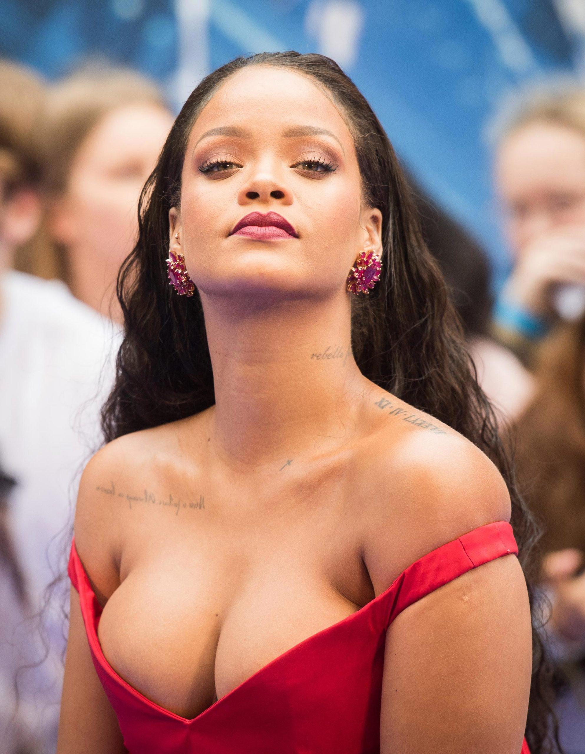 Rihanna Boob Job