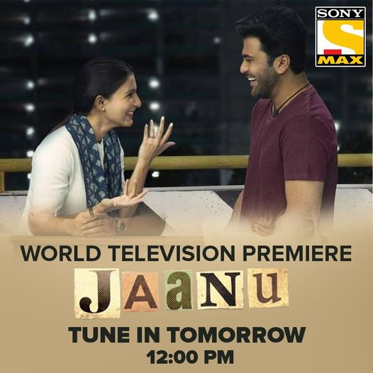 Watch Jaanu Movie World Television Premiere on Sony Max 18th April 2021 Check Timing Details